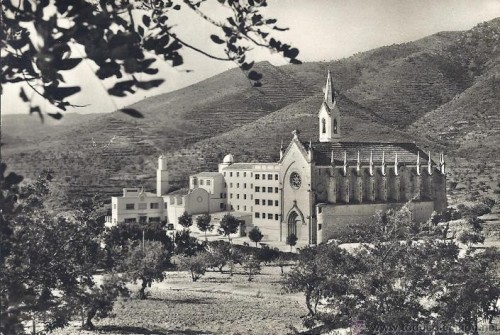 Vista del seminario mayor de Onda (Castellón).