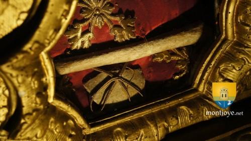 Reliquias de San Luís en Ecuelles de Bounogne (Francia). Fuente: www.montjoye.net