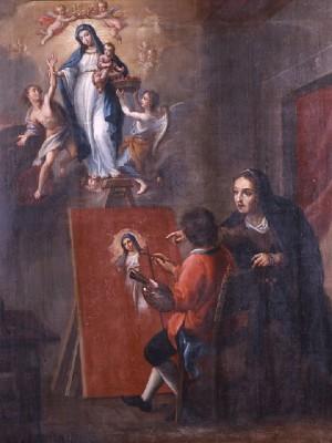 La segunda aparición de la Madre Santísima de la Luz.