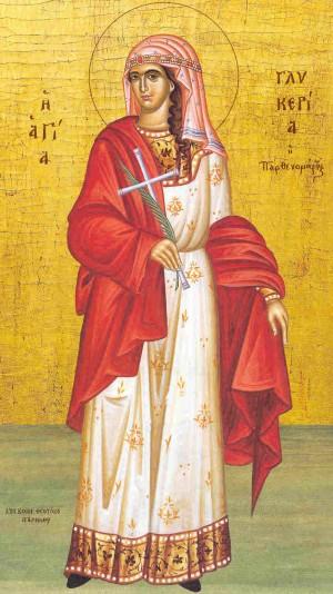 Icono ortodoxo griego más famoso de la Santa.