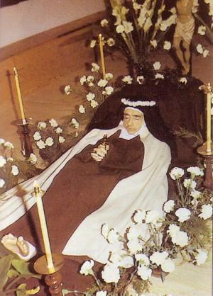 Velatorio de la Santa. Fuente: http://liturgia.mforos.com/