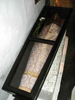 Tumba de San Gregorio el Taumaturgo.