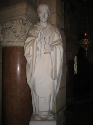 San Ferreolo de Besançon. Iglesia de San Ferrucio, Saint-Ferjeux, Francia.