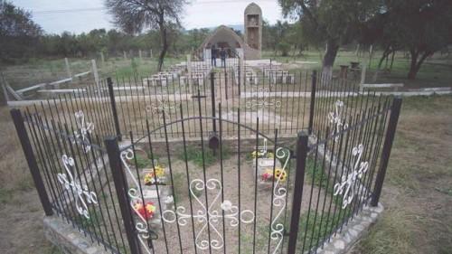 Lugar del martirio del siervo de Dios Carlos de Dios Murias.