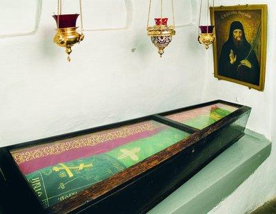 Tumba de San Eustracio monje mártir.