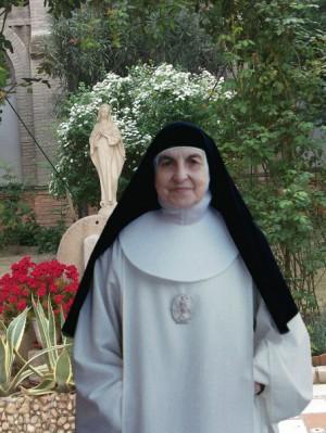 Fotografía de la Sierva de Dios, ya anciana.