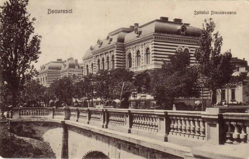 Vista del Spitalul Brâncovenesc.