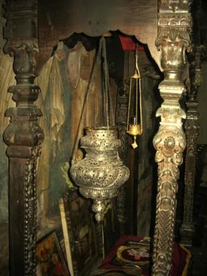 Antigua tumba de San Clemente de Ohrid.
