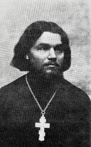 Fotografía del santo.