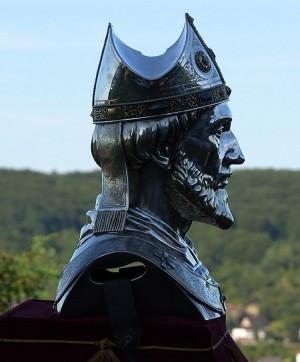 Busto relicario en Remagen (Alemania).