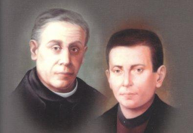 Imagen de los dos Beatos, hecha con motivo de la beatificación.
