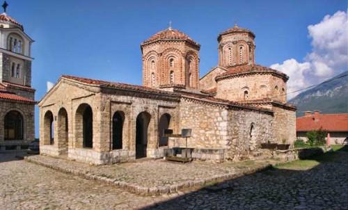 Monasterio de San Nahum en Ohrid.