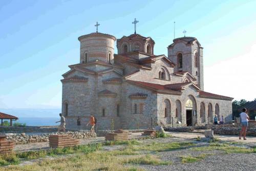 Monasterio de los Santos Clemente y Pantaleón en la ciudad de Ohrid.