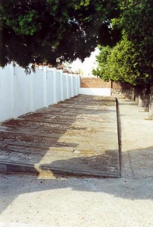 Fosas del cementerio de Aravaca donde están sepultados los beatos mártires.