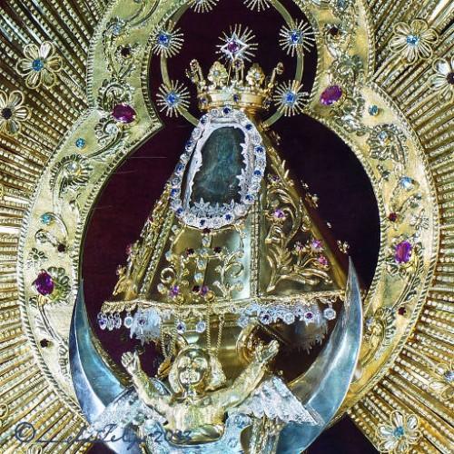 Nuestra Señora de los Ángeles, patrona de Costa Rica.