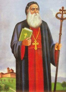 Ilustración del Santo.