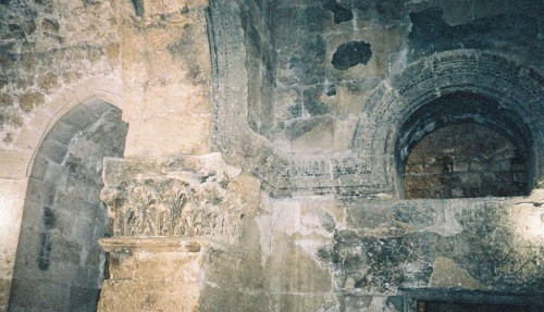Interior de la iglesia de Mor Jacob.