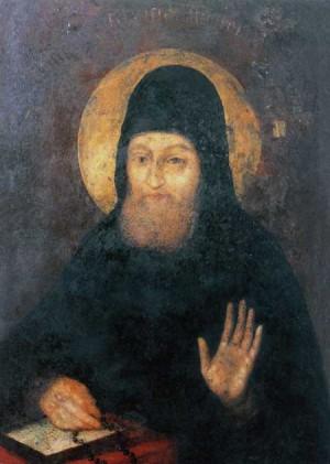 Icono de San Pimén el gran enfermo.
