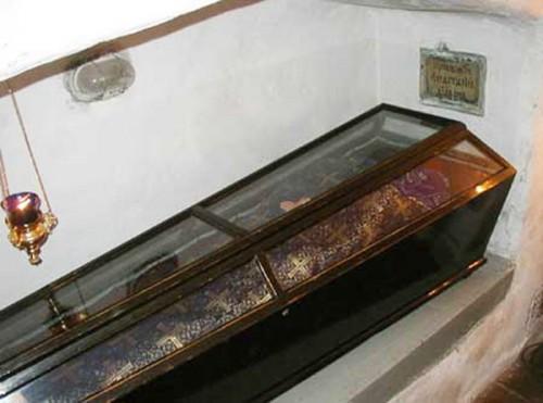 Urna de San Anastasio el diácono.