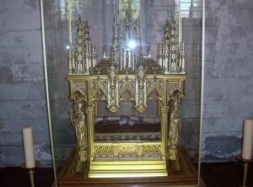 Relicario del Santo en Seclín (Francia).