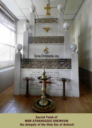 Sepulcro de Mor Atanasio Shemavun.