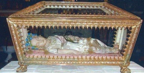 Santa Lupercila, mártir. Crodo, Italia.