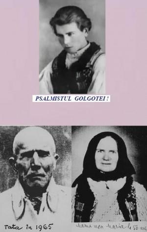 Fotografías de Traian niño y de sus padres, Constantin y María.