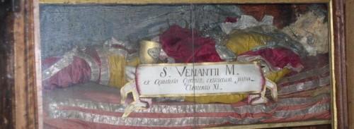 San Venancio, mártir romano. Monselice, Italia.