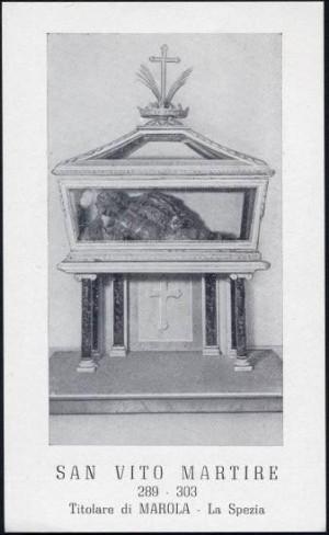 San Vito, mártir romano. Marola, Italia.