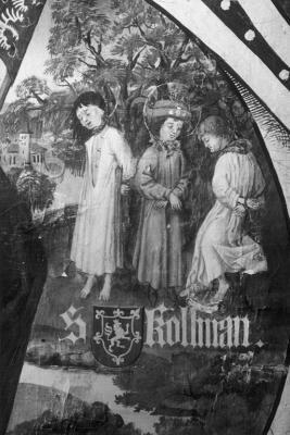 Martirio de San Colomán. Galería de Babenberger en Klosterneuburg (Austria)