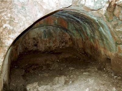 Primera tumba de Santa Teodora encontrada en unas excavaciones arqueológicas en Tesalónica.
