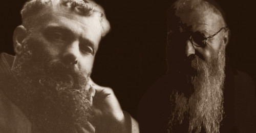 Foto de los beatos Federico de Berga y Modesto de Mieres.