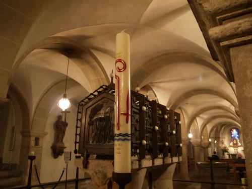 Sepulcro de los Santos Casio y Florencio. Catedral de Bonn, Alemania.