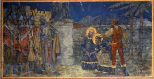 Martirio de los Santos Casio y Florencio. Catedral de Bonn, Alemania.