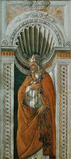 Detalle del Santo en la Capilla Sixtina. Basílica de San Pedro del Vaticano, Roma (Italia).