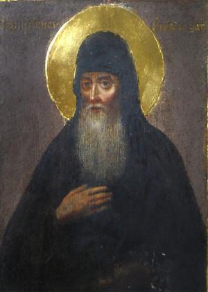 Icono de San Teófilo el recluso.