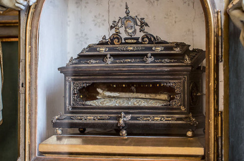 Reliquia de San Virgilio en Wolfsberg, Alemania,
