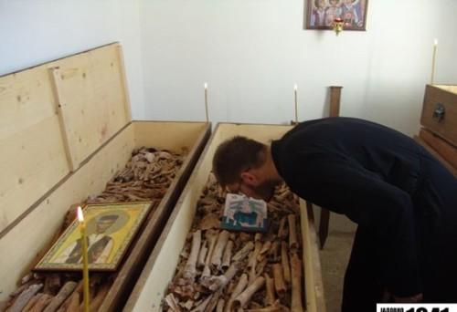 Veneración de las reliquias de los neomártires en Bosnia-Herzegovina.