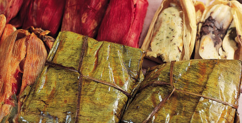 El tamal es el alimento tradicional del día de la Candelaria en México.