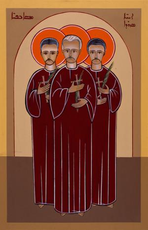 Icono maronita de los Beatos.