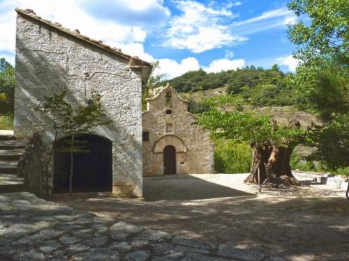 Ermita de la Virgen de la Ortisella, Benafigos, Castellón (España).