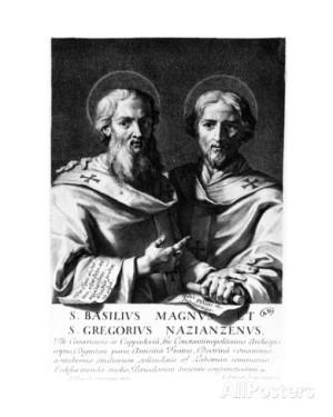 San Basilio Magno y San Gregorio Nacianceno.