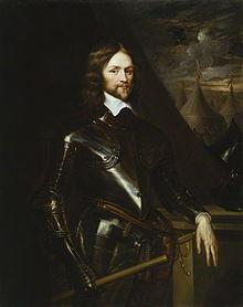Retrato de Henry Ireton, comandante que ordenó el arresto del Beato.