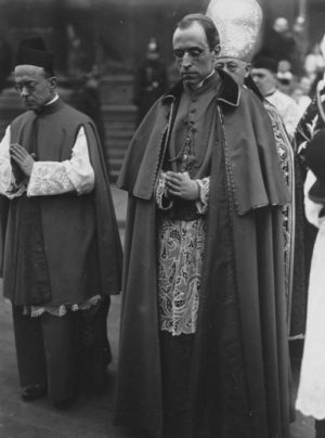 Fotografía del nuncio Pacelli.