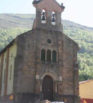 Parroquia de Nembra (España) a la cual pertenecían los mártires.