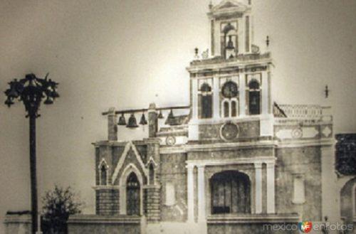 Antigua Catedral del Señor de Esquipulas en Villahermosa, Tabasco. Foto tomada de México en fotos.